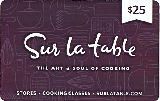 stylist and luxury sir la table. Sur La Table Gift Card  25 Amazon com Cards
