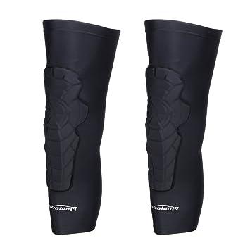 0118af1a89890 COOLOMG 2 Packs (1 Pair) Kids Adult EVA Pads Crashproof Basketball Leg Knee  Long Sleeve Protector Gear XS-XL, Knee Pads - Amazon Canada