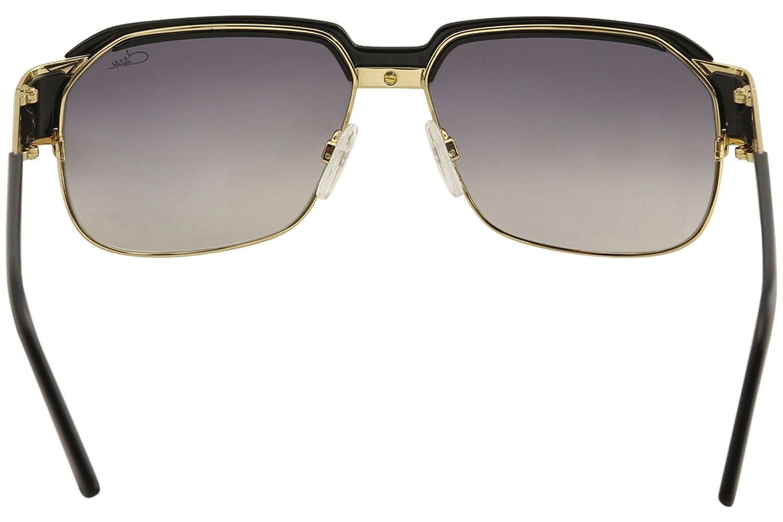 Amazon.com: Cazal Leyendas para hombre 9068 001sg negro/oro ...