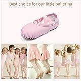 STELLE Girls Ballet Dance Shoes Slippers for Kids