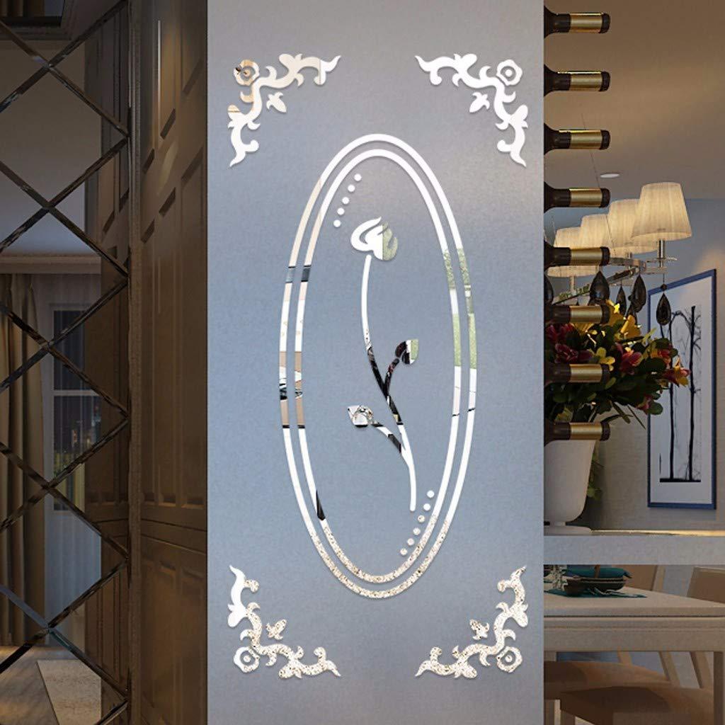 YWLINK Vinilos 3D DIY Lotus Moda AcríLico Etiqueta De La ...