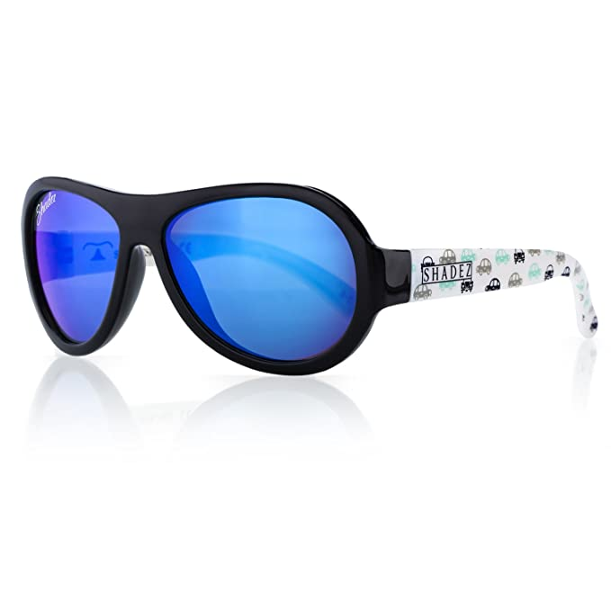 Amazon.com: Shadez niños Flex marco Aviator anteojos de sol ...