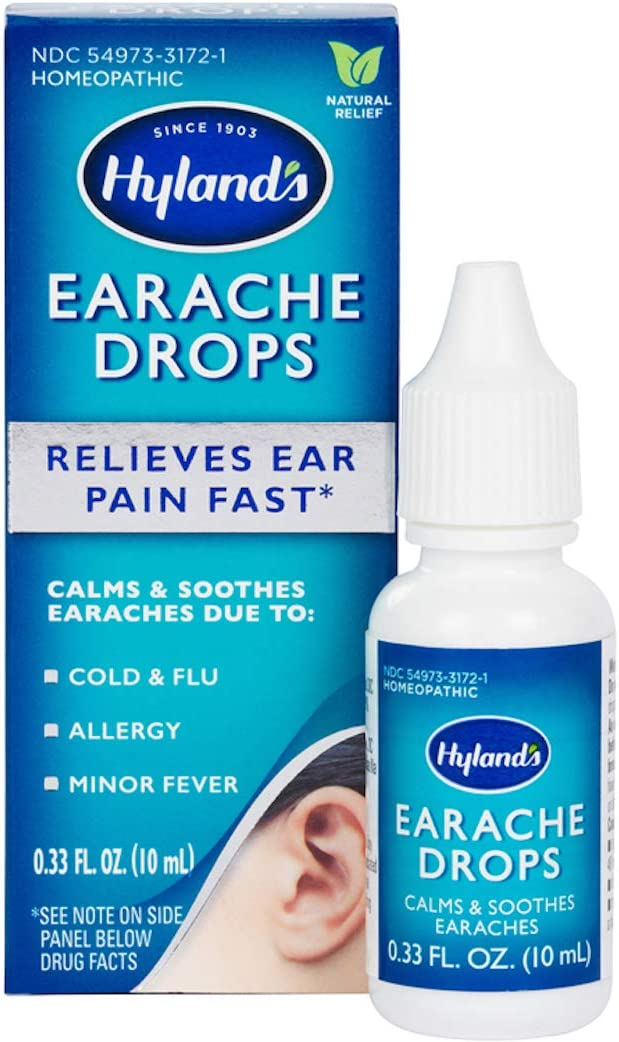 eardrops for earache