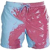 EA-SDN Heren zwemshort Temperature Sensitive Color Changing Beach Pants Voor Mannen Zomer Stijlvol Zwem Drunks…