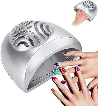 Secador de uñas Portátil Mini Ventilador Uña Art º El secado ...