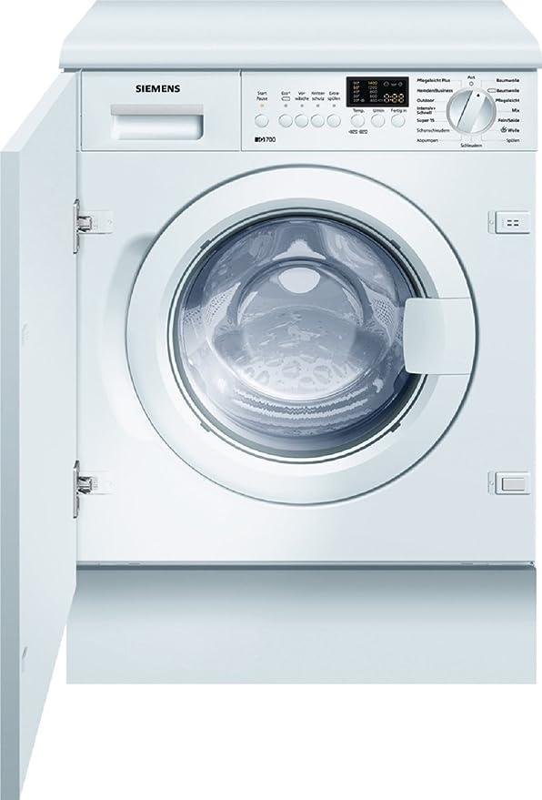 Siemens WI14S441 - Lavadora (Incorporado, Color blanco, Frente, 7 ...