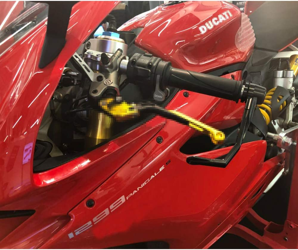 Moto Guzzi V7 Racer Moto Morini 1200 Scrambler Xitomer Lever Protector Titanium Benelli Cafe Racer MZ 1000 S for Aprilia Tuono// RSV4// RSV1000R Mille MV Agusta Brutale675// F4 1000