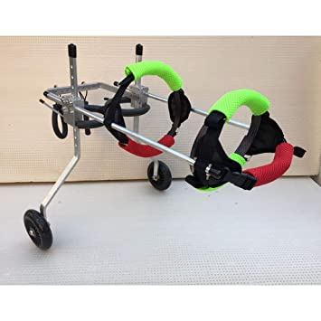 Silla de ruedas para perros, Rueda para silla de ruedas para perros - Para perros pequeños de ...