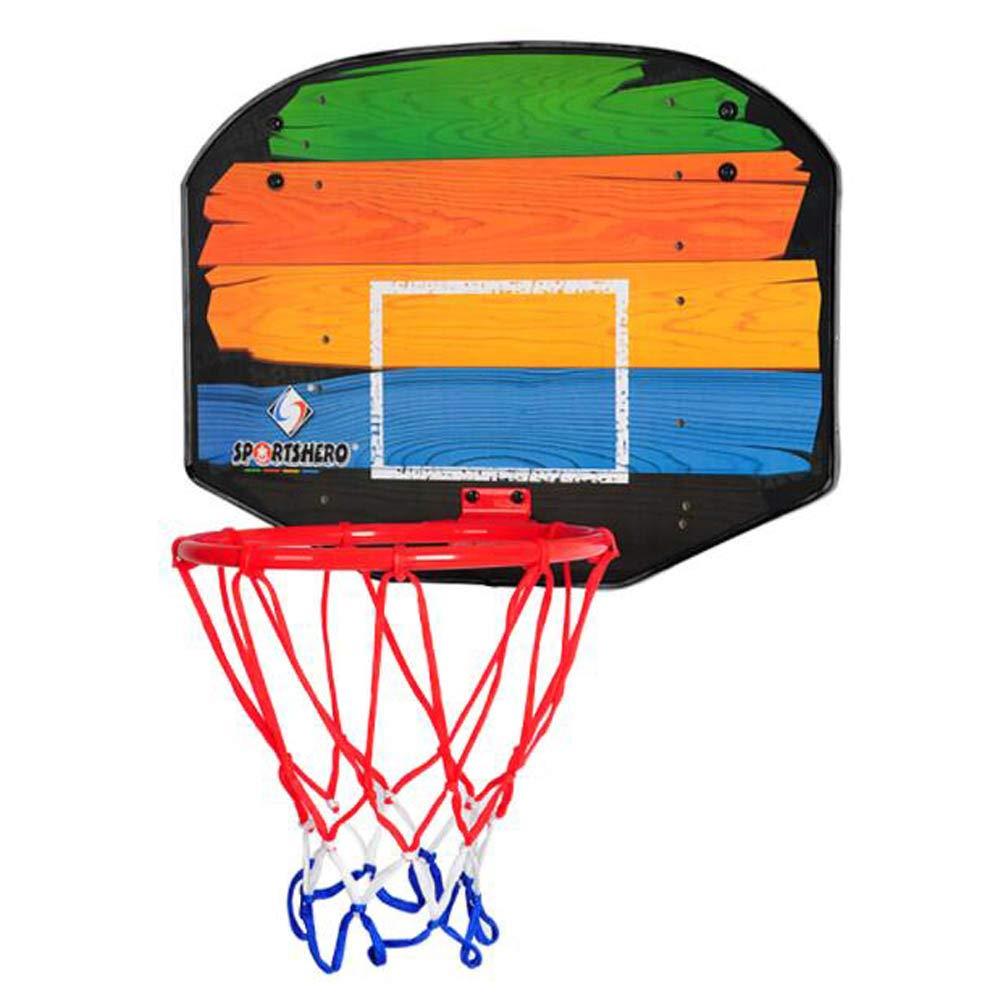 Sistema de Baloncesto Ajustable con Tablero de Resina, Cesta de ...