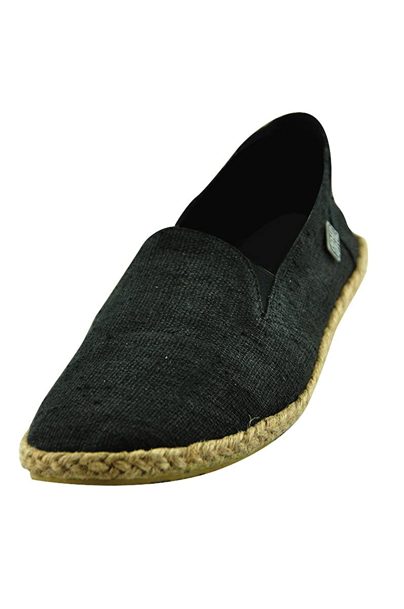 Amazon.com | virblatt Comfortable Hemp Espadrilles Men with Ethnic Pattern Hemp Slippers - Bequem | Slippers