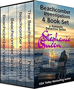 Beachcomber Investigations: 4 Book Set: a Romantic Detective Series by [Queen, Stephanie]
