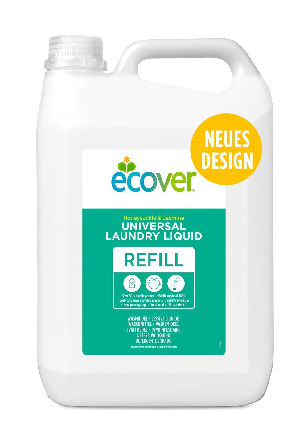 Ecover Deterg. Liq. Conc. 5 L. Ecover 1 Unidad 5000 g: Amazon.es ...