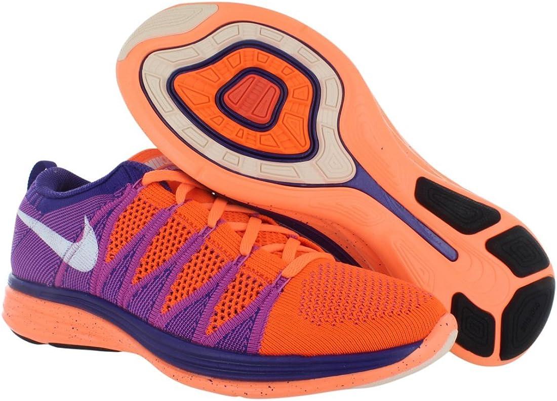 Nike Flyknit Lunar2, Scarpe da Running Uomo Orange