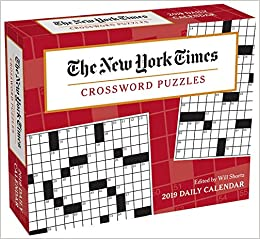 The New York Times Crossword Puzzles 2019 Day To Day Calendar The
