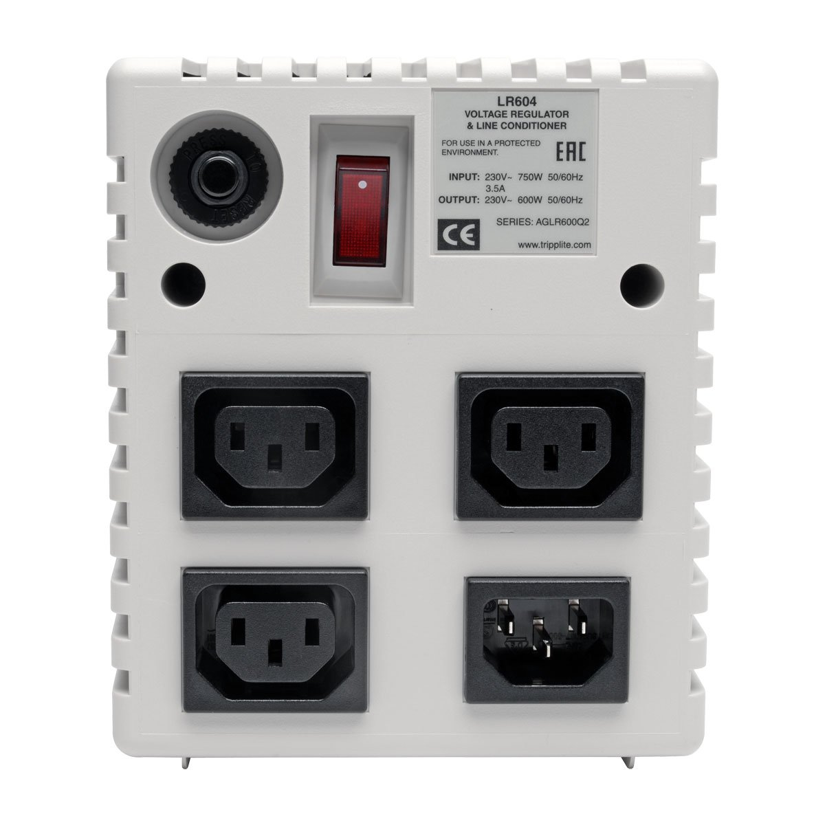 Tripp Lite Ls604 600w Wallmount Line Conditioner 4 Outlets 6ft Cord