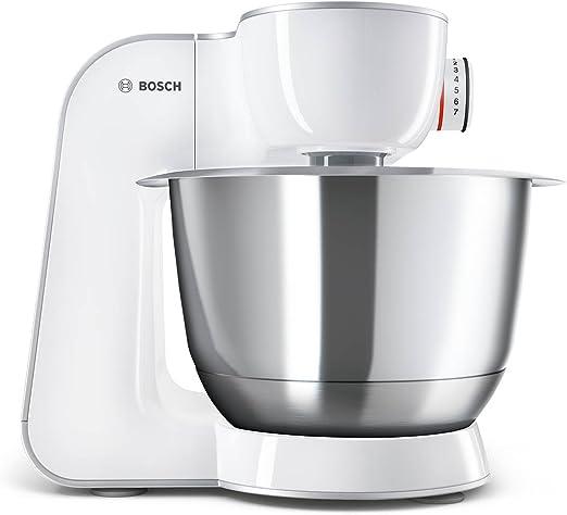 Bosch MUM58243 - Robot de cocina (1000 W, acero inoxidable) + accesorios, color blanco: Amazon.es: Hogar
