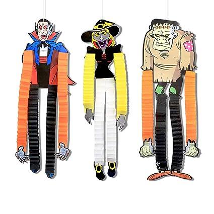 Amazon.com: AYAMAYA Halloween Decorations Outdoor Hanging Paper ...