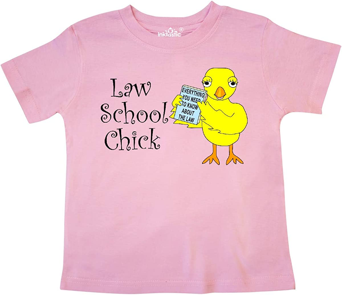 inktastic Law School Chick Toddler T-Shirt