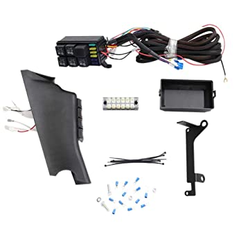 GDAUTO Pillar Switch Pod with Fuse Relay Box Source Control System on ah fuse box, 2010 jeep compass fuse box, ce fuse box, gm fuse box, 2013 patriot horn fuse box, rc fuse box, ga fuse box, zj fuse box, wj fuse box, 1997 jeep cherokee fuse box, 2014 jeep compass fuse box, ek fuse box, db fuse box, ac fuse box, wrangler fuse box, ka fuse box, eg fuse box, xj fuse box, ge fuse box,
