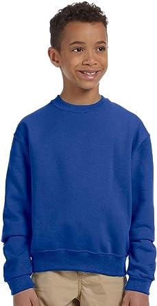 Royal Jerzees Youth Fleece Crew Sweatshirt Large
