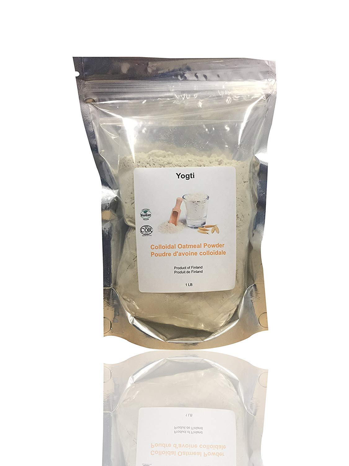 Yogti Colloidal Oatmeal Powder, 1 Lb