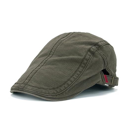 5934ac162d4 Raylans Chic Men s Denim Ivy Cap Golf Driving Summer Sun Beret Hat Cabbie  Newsboy Cap