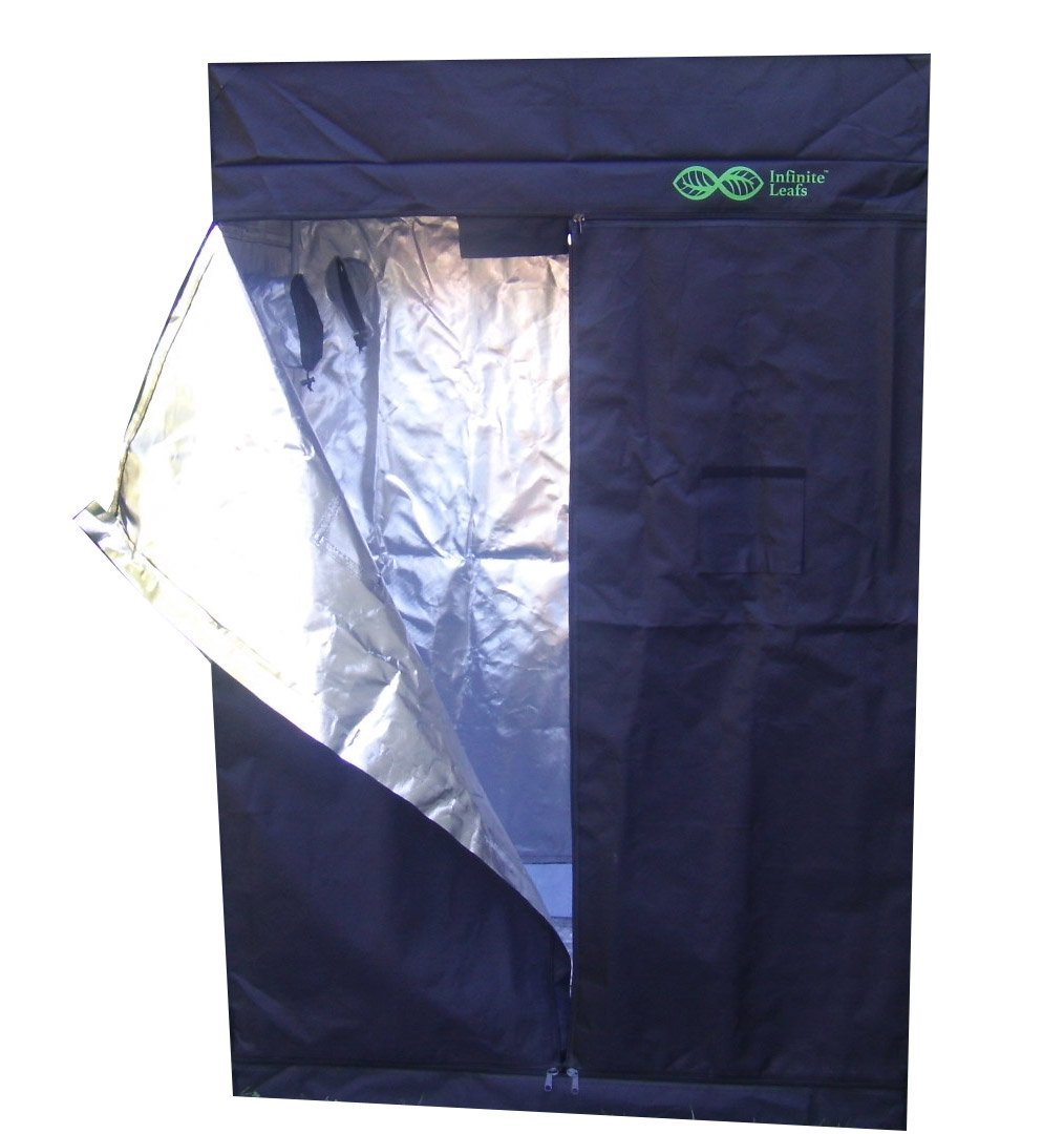 Tent GROW 79''x 51''x 27'' Reflective 600D Mylar Hydroponic, Heavy Duty, Strong zippers.