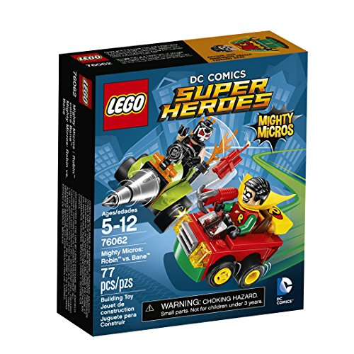 LEGO DC Comics Super Heroes Mighty Micros: Robin vs. Bane (76062)]()