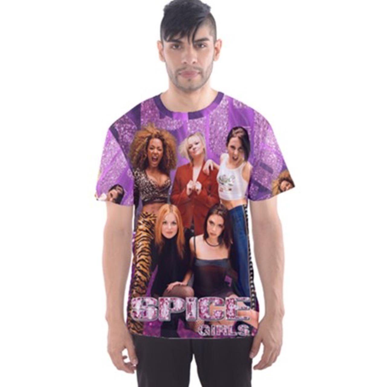 Spice Girls TeeメンズTシャツTee Fullprint Tシャツサイズ3 x l   B075DXMCYQ