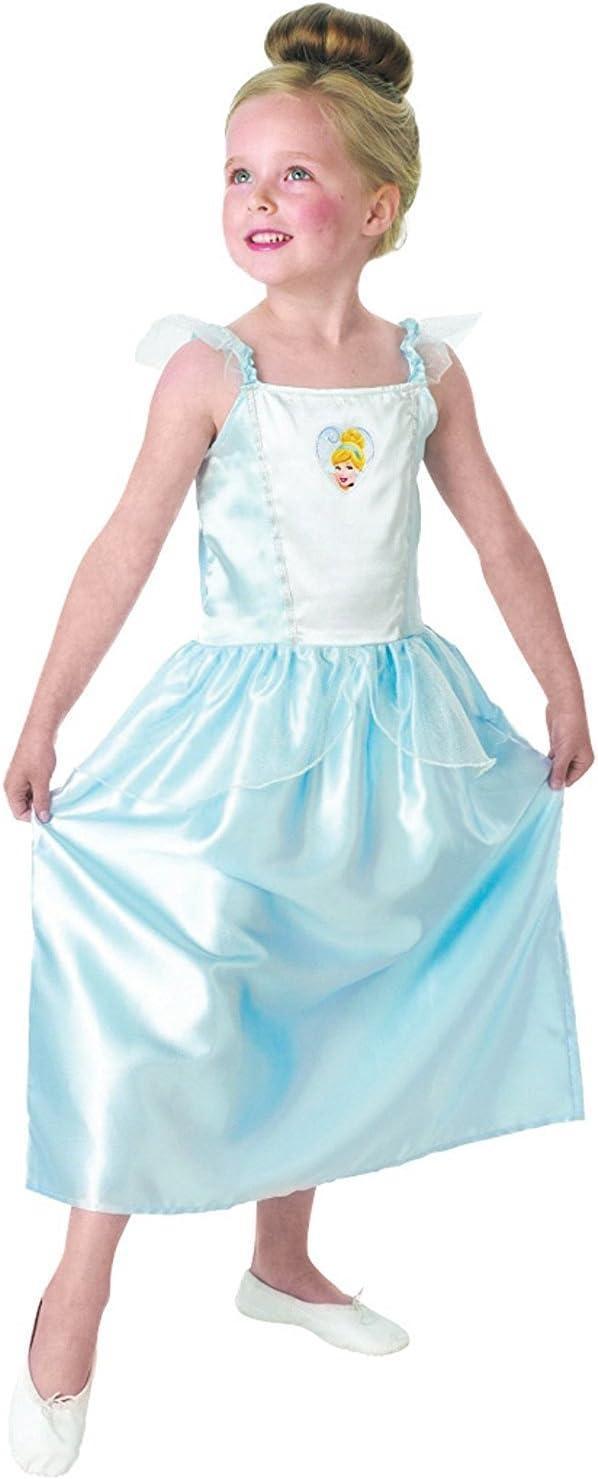 Princesas Disney - Disfraz de Cenicienta azul para niña, infantil ...