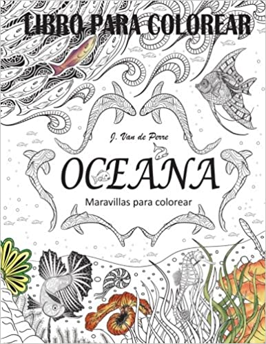 Amazon.com: Oceana: Maravillas para colorear (Spanish Edition ...