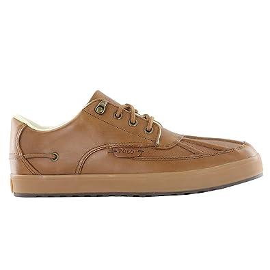 Shoes Outlet - Polo Ralph Lauren Ramiro SK VLC Tan Mens Trainers