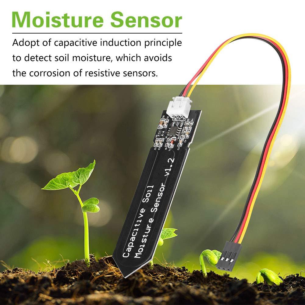 modulo di lavoro ad alta tensione resistente alla corrosione con cavo Sensore di umidit/à del terreno di tipo capacitivo