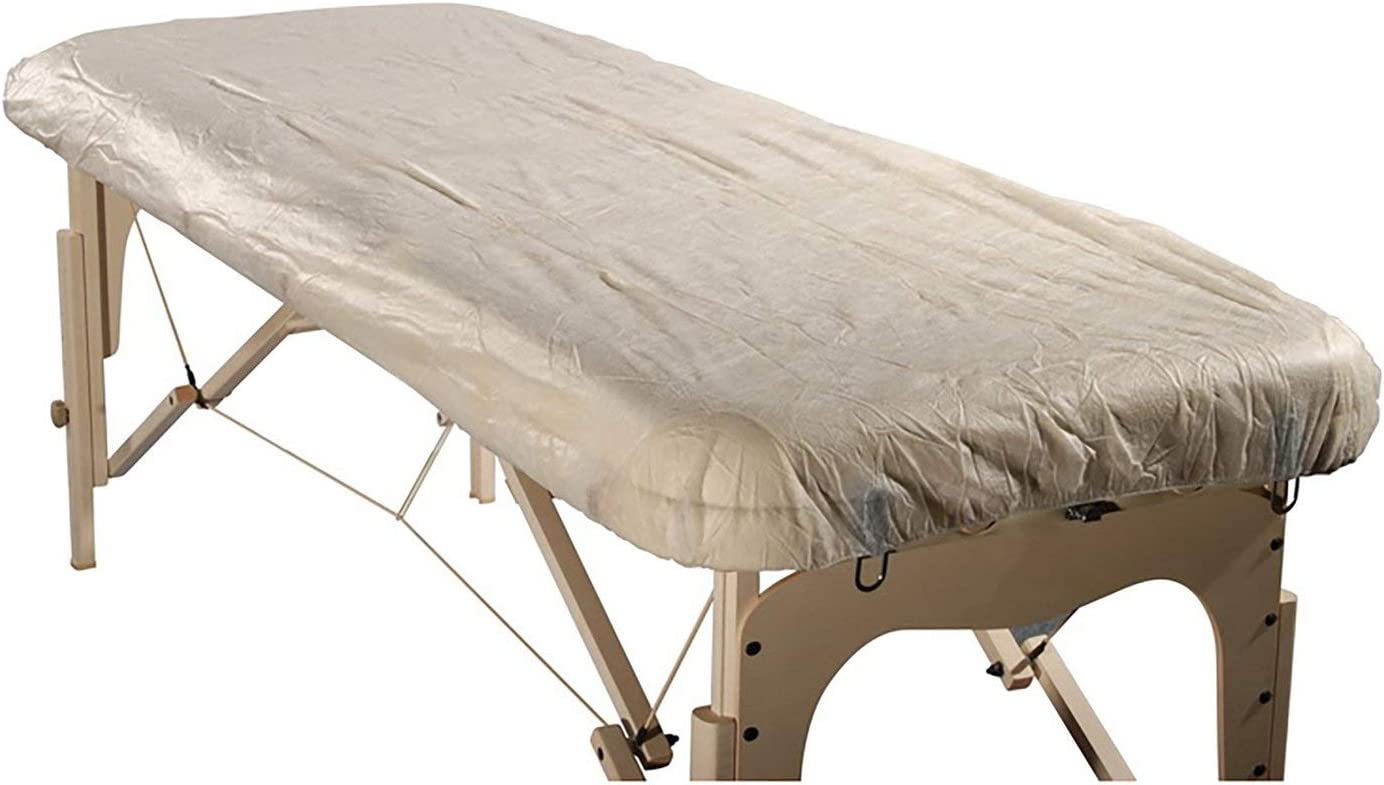 Master Massage Disposable Fitted Table Sheet Cover(Pack of 10) for Massage Table: Health & Personal Care