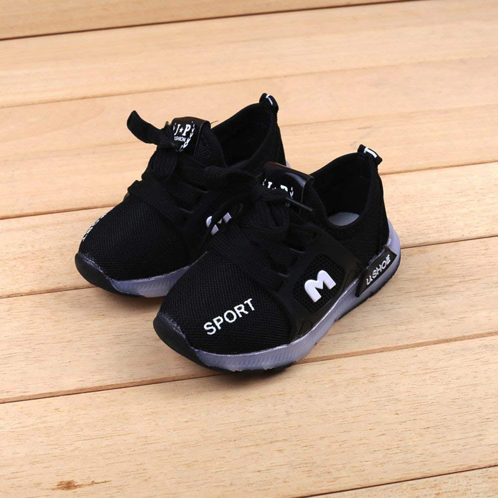 Baby Girls Led Light Boys Luminous Outdoor Sport Sneakers by WOCACHI clcour Baby Shoes