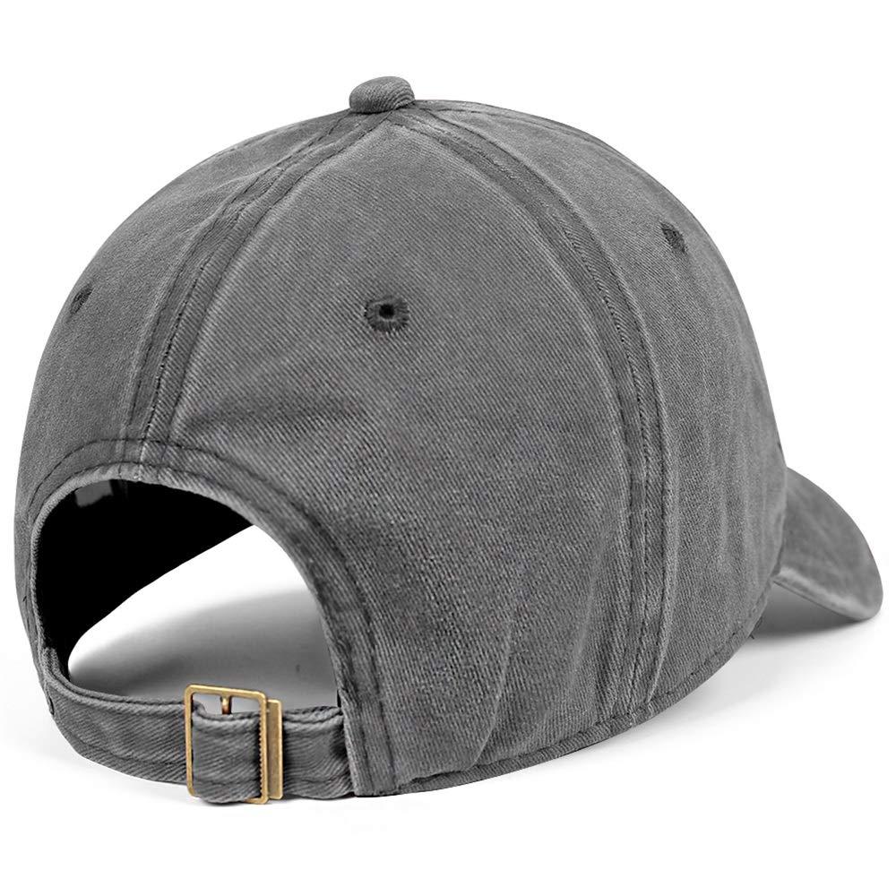 SNEFUEE Men Women Bassnectar Maryland Zentangle Cap Retro Denim Cowboy Hats Workout Caps