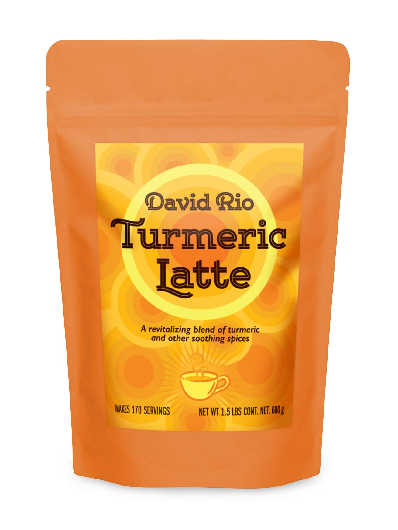 David Rio Chai Mix, Turmeric, 24 Ounce (Pack of 1) by David Rio
