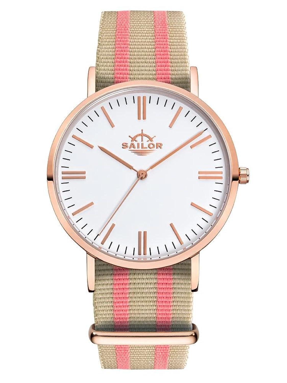 Sailor Armbanduhr Classic Banks mit Nylonarmband | Die Trend-Uhr 2017 auf vielen Fashion Shows von Paris bis New
