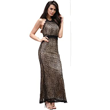 df560bd648f7 Moshow Women s Off-shoulder Lace Stitching Sexy Ladies Dress Wedding Party  Dress (Small