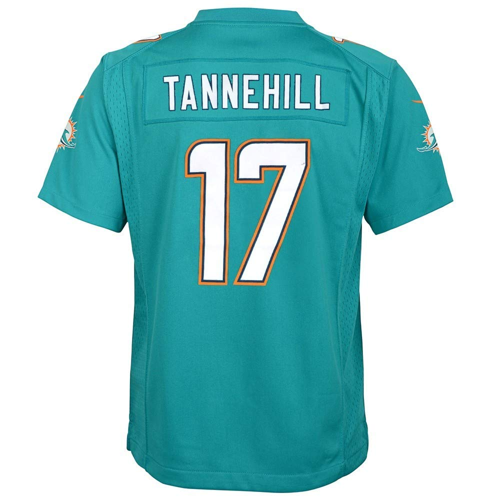 Amazon.com   Nike Ryan Tannehill Miami Dolphins NFL Youth Teal Home Game  Jersey   Sports   Outdoors e70cd6844
