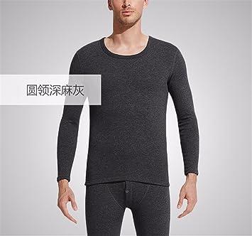 YMFIE Hombre sencillo con ropa interior de cachemir de alta calidad en otoño e invierno alpacafiber