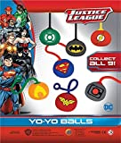 MVS WHOLESALE PACK of 10 - Justice League Stretchy Yo Yo's, Brilliant Boys Party Bag Favour/Toy/Filling or Pinata Prize.