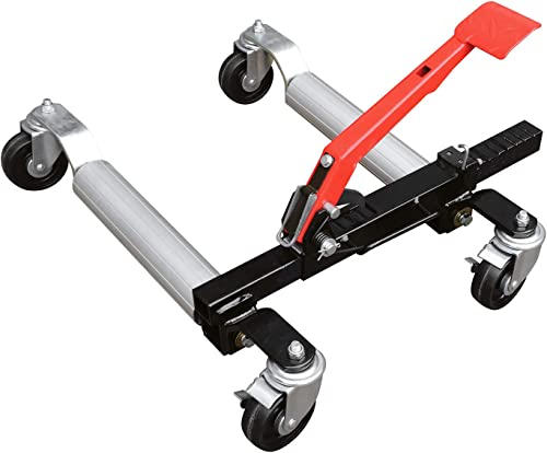 500-Pound Hydraulic Wheel Dolly