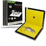 Amazon Com Mouse Glue Trap Extra Large Rat Glue Traps