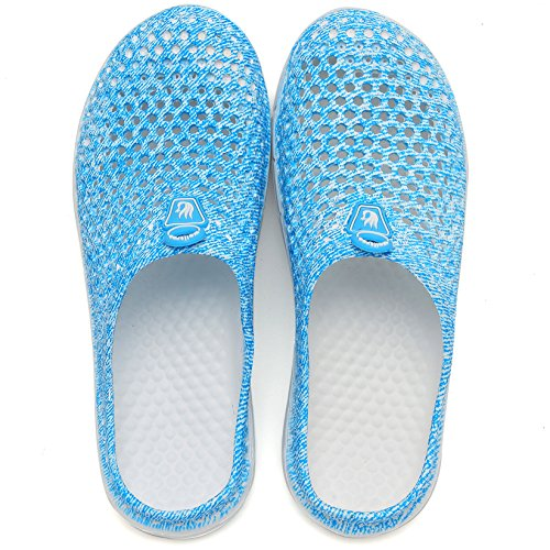 Women's Clog Unisex Garden Blue Drying Shoes welltree Slippers Quick Men's Sandals 5gpfxxwq
