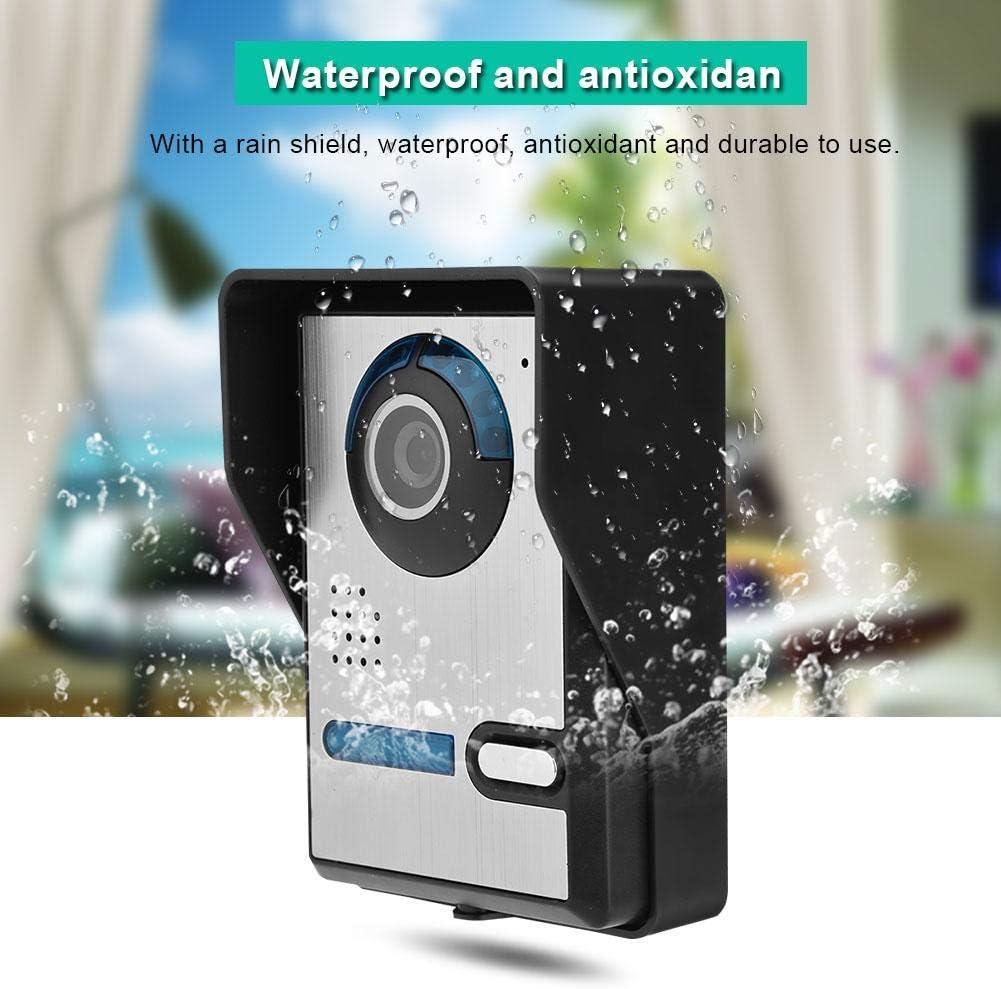 kit de timbre inteligente para el hogar intercomunicador de timbre c/ámara de video wifi Sistema de intercomunicaci/ón de videoportero Reino Unido pantalla t/áctil de 7 pulgadas