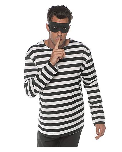Horror-Shop Camisa de Traje de Prisionero con Máscara One ...