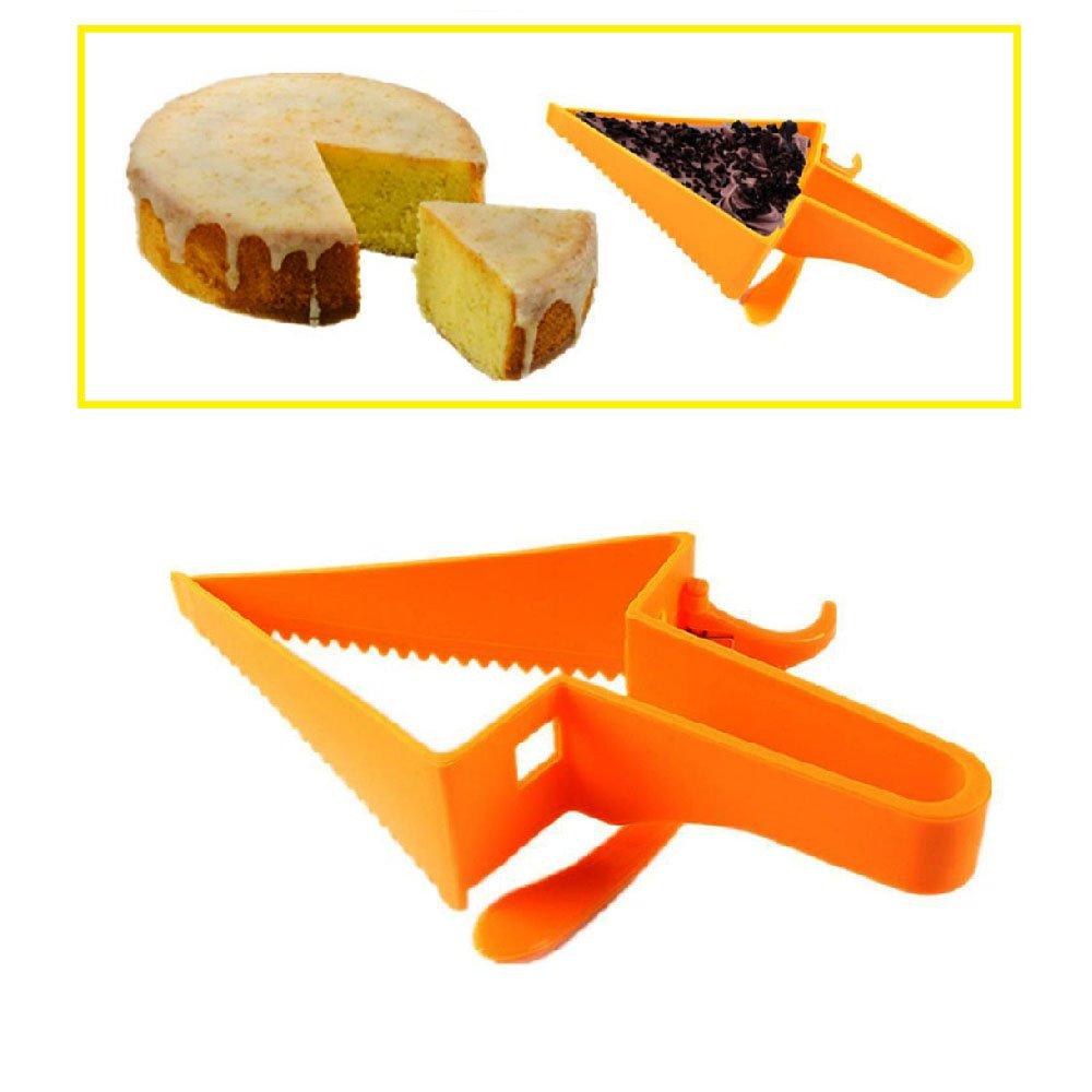 Motzu新しいデザイン調節可能なケーキカッターケーキサーバー、ケーキスライスナイフ、ケーキカッターツール、ケーキナイフ切断ナイフツール B07CR96DG8