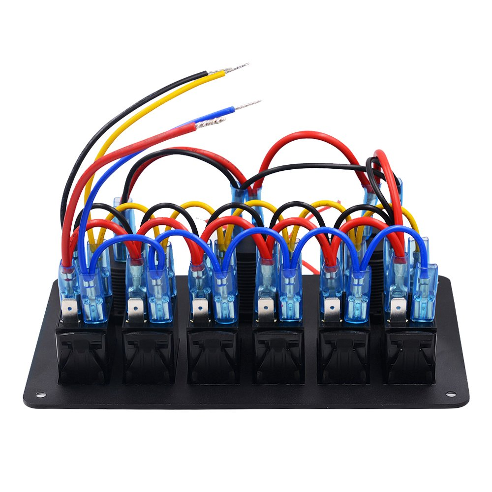 Samoleus 5 PIN 6 Gang Boot Marine LED Schalter: Amazon.de: Computer ...