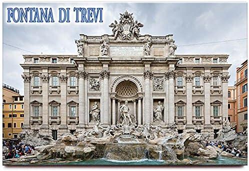 "Italy Rome Travel Souvenir Photo Fridge Magnet Big Size 3.5/""X2.4/"""